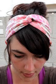 honeybee vintage diy twisted turban headband from an old t shirt