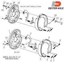 dexter trailer brakes 1 4 x 3 8 electric brake lbs 12×2 daltenty dexter trailer brakes trailers hydraulic disc wiring diagram