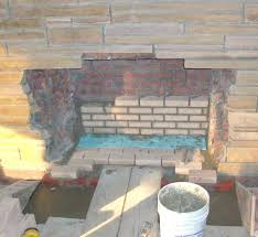 refacing a brick fireplace with stone veneer stunning design ideas how to reface a brick fireplace