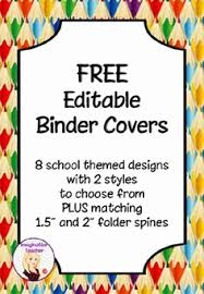 Free Editable Binder Covers And Spines Binder Covers Beautiful 12 Best Free Editable Binder Covers