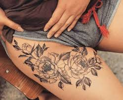 татуировки на ляжках татуировки на женских ножках Vk мехенди на