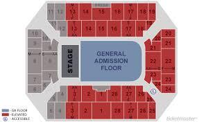 Vystar Veterans Arena Seating Chart 53 Organized Seating Chart For Veterans Memorial Arena