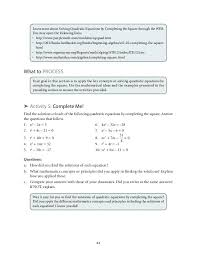 solving equations by completing the square worksheet math learn more about solving quadratic equations by completing the square solving quadratic equations