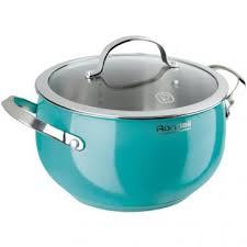 <b>Кастрюля Rondell</b> Turquoise <b>RDS</b>-<b>719</b>, 5.8 л – купить по цене ...