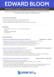 Get Updated With Modern Resume Formats 2018 Examples 2017 Customer