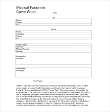 Facsimile Fax Cover Sheet 10 Fax Cover Sheet Templates Free Sample Example Format