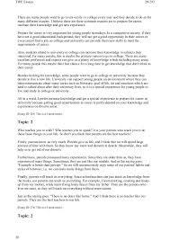 Best College Essays Examples