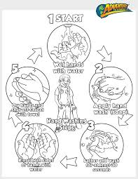 Small Picture Emejing Hand Washing Coloring Pages For Preschoolers Ideas