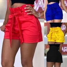 Women Summer Casual Shorts Bandage Pockets Short ... - Vova