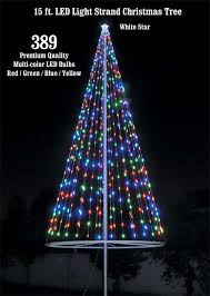 Flagpole Christmas Tree Kit (Multicolor) - Uncommon USA - Flagpole ...