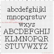 Cross Stitch Alphabet Patterns Unique Free Cross Stitch Letter Patterns Howtoviewsco