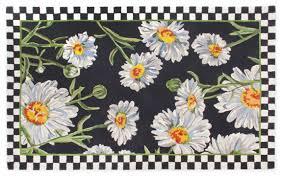daisy rug 5 x 8 mackenzie childs eclectic rugs new york by mackenzie childs