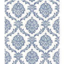 Brewster Home Fashions Saint Malo Blue ...