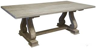 dining table paint colors. old and vintage trestle dining table made from reclaimed wood with carving legs painted white chalk paint color ideas colors