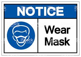 Avis Porter Masque Symbole Signe Illustration Vectorielle Isoler Sur Fond  Blanc Étiquette Eps10 Vecteurs libres de droits et plus d'images  vectorielles de Allergie - iStock