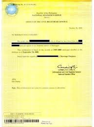 Inspiration Authorization Letter Nso Nso Birth Certificate Sample