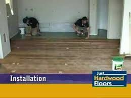 just hardwood floors timber floor installation over concrete