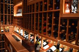 wine cellar lighting. Each Of These Shelves Was Designed To Have Openings That Were Adequately Large Store Bottles Various Sizes, Including Format Wines, Like Turley Wine Cellar Lighting