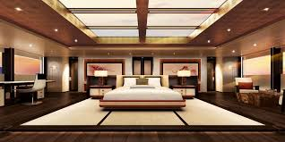 Biggest Master Bedroom World st Yacht Ever Built China Home