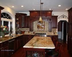 brilliant granite kitchen countertops with cherry cabinets m17 on