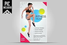 Training Flyer Templates Free Fitness Flyer Templates Free Premium Templates Personal