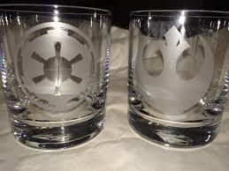 How To Etch Glass Heres How To Etch Your Own Star Wars Drinking Glasses The