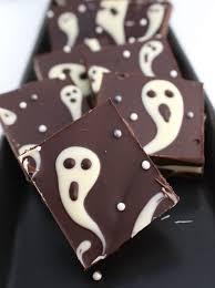 homemade halloween candy ideas. Beautiful Ideas Ghostly Halloween Candy Bark Inside Homemade Candy Ideas R