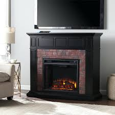 full image for electric fireplace tv stand black friday 2016 faux brick a satin red corner