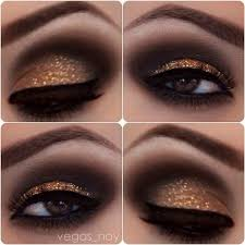 black bronze brown eye eyeshadow glitter homeing ideas