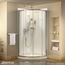 prime sliding shower enclosure base backwall kit
