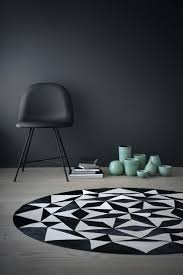 round black and white rug ambition round by design lifestyle small these leather rugs are the round black and white rug