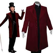 Charlie and the Chocolate Factory Cosplay Johnny Depp Willy Wonka Costume  Jacket Coat For Adult Men Halloween Carnival Costume wonka costume willy  wonka costumewilly wonka - AliExpress