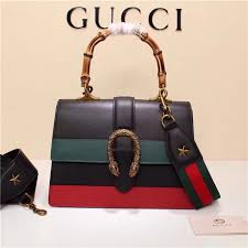 gucci dionysus leather top handle bag multi colors