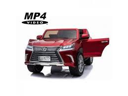Детский <b>электромобиль Lexus</b> LX570 4WD MP4 - DK-LX570-RED ...