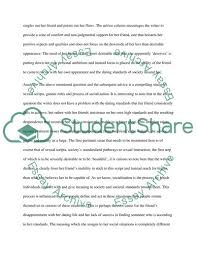 Essay On Advice Popular Advice Social Norms Essay Example Topics And