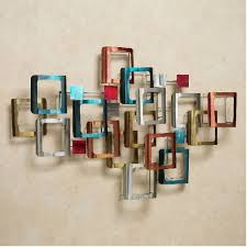 metal wall decor for modern homes