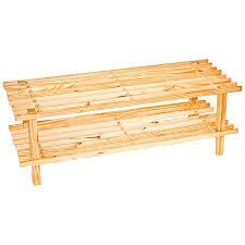 Wooden Shoe Rack Amazon Diy Pallet Plans.