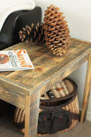 best  wood end tables ideas on pinterest  diy furniture plans