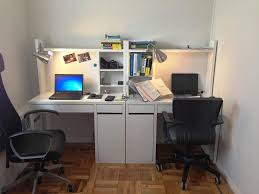 nice person office. Inspiring Person Corner Desk Two Computer U Home Design Picture For People Trends And Concept Nice Office