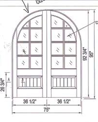 open double door drawing. Perfect Open Arched Double Doors And Custom Wood Made To Order Door Drawing