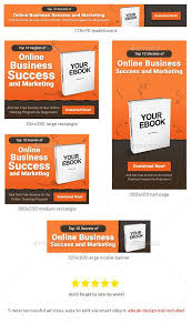 Ad Templates Awesome Ebook Banner Ad Template Banners Ads Web Banner