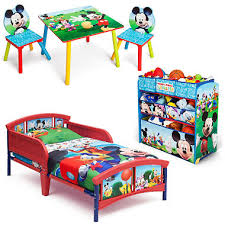Delta Children Mickey Mouse 3-Piece Toddler Bedroom Set - Sam's Club