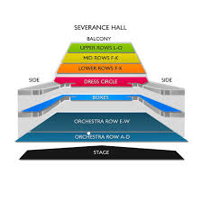 78 Unusual Severence Hall Seating Chart