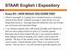 state of texas assessments of academic readiness staartm english  31 staar english i expository