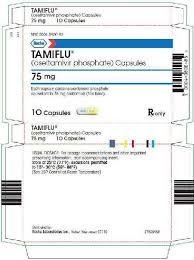 Tamiflu Oseltamivir Phosphate Powder For Suspension