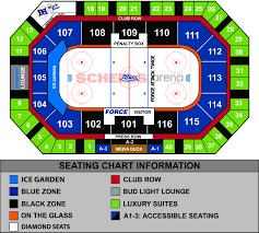 Gamblers Hockey Seating Chart Seating Chart