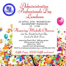 Administrative Professional Certificate Administrative Professionals Day Luncheon New Rochelle