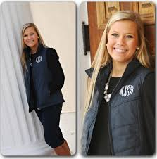 Monogrammed Puffy Vest Quilted Monogrammed Vest & Like this item? Adamdwight.com