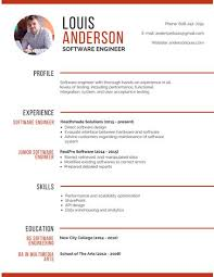 Gallery Of Professional Musician Resume Templates By Canva