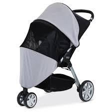 britax b agile 3 stroller sun and bug cover s924100